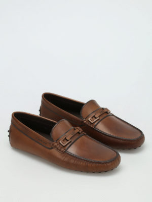 Tod'S: Loafers & Slippers online - Macro Clamp Country leather loafers