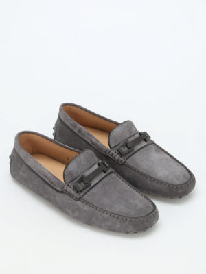Tod'S: Loafers & Slippers online - Macro Clamp Country suede loafers