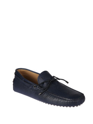 Tod'S: Loafers & Slippers online - New Gommini grainy leather loafers
