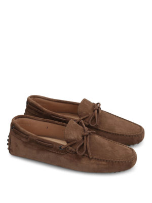 Tod'S: Loafers & Slippers online - New Gommini suede loafers
