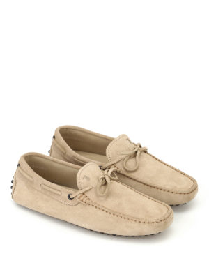 Tod'S: Loafers & Slippers online - New Laccetto gommini driving shoes