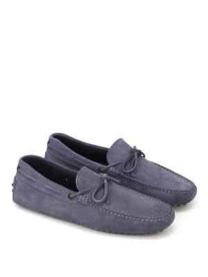 Tod'S: Loafers & Slippers online - New Laccetto jeans suede loafers