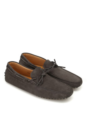Tod'S: Loafers & Slippers online - New Laccetto nubuck driving shoes