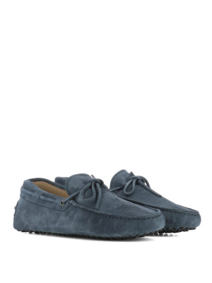 Tod'S: Loafers & Slippers online - New Laccetto suede driving shoes