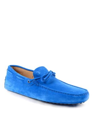 Tod'S: Loafers & Slippers online - New Laccetto suede loafers