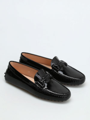 Tod'S: Loafers & Slippers online - Patent leather loafers