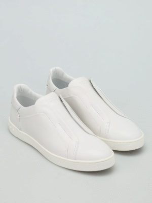 Tod'S: Loafers & Slippers online - Smooth leather slip-ons