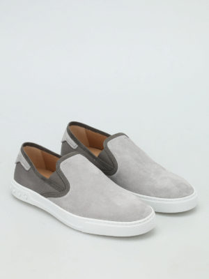Tod'S: Loafers & Slippers online - Suede and canvas slip-ons