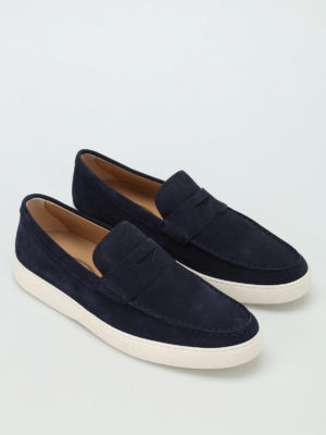 Tod'S: Loafers & Slippers online - Suede casual loafers