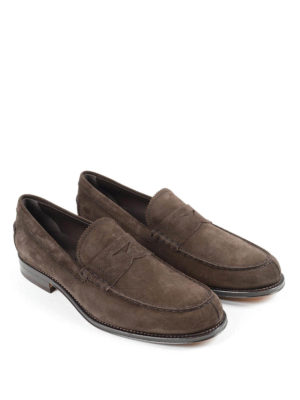Tod'S: Loafers & Slippers online - Suede classic loafers