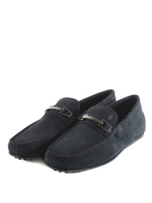 Tod'S: Loafers & Slippers online - Suede leather loafers