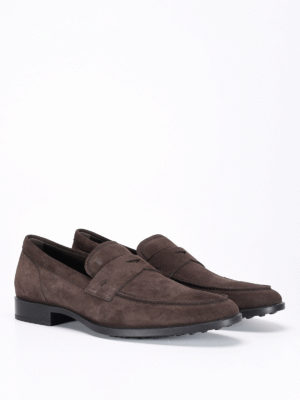 Tod'S: Loafers & Slippers online - Suede loafers