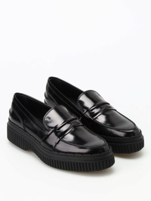 Tod'S: Loafers & Slippers online - Tapered loafers with maxi sole