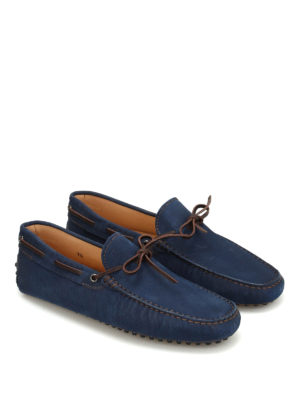 Tod'S: Loafers & Slippers online - Textured suede loafers