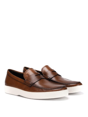 Tod'S: Loafers & Slippers online - Vintage leather loafers