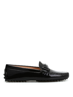 Tod'S: Loafers & Slippers - Patent leather loafers