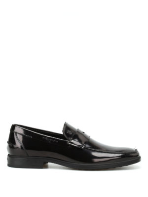 Tod'S: Loafers & Slippers - Polished leather classic loafers