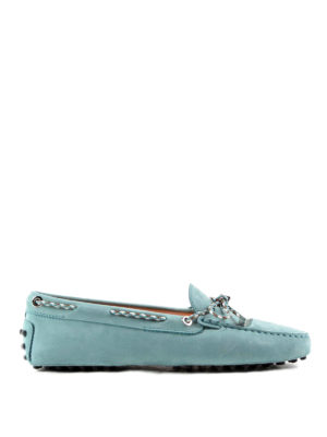 Tod'S: Loafers & Slippers - Scooby doo lace detail loafers