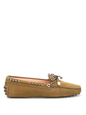 Tod'S: Loafers & Slippers - Scooby doo nubuck loafers