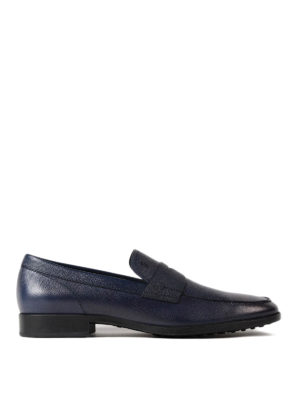 Tod'S: Loafers & Slippers - Seasonless blue leather loafers