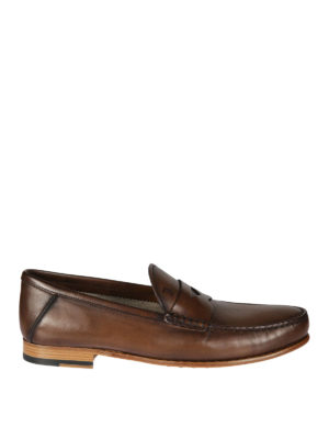 TOD'S: Mocassini e slippers - Mocassini in pelle semi lucida