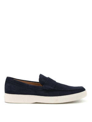 Tod'S: Loafers & Slippers - Suede casual loafers