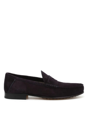 Tod'S: Loafers & Slippers - Suede classic loafers