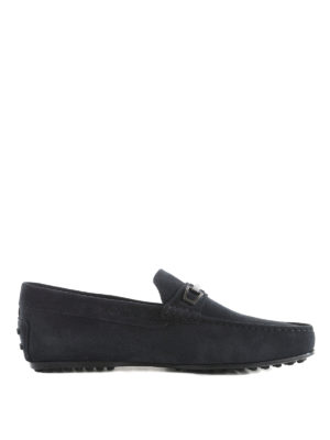 Tod'S: Loafers & Slippers - Suede leather loafers