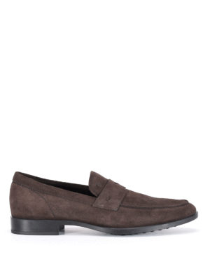 Tod'S: Loafers & Slippers - Suede loafers