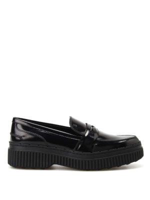 Tod'S: Loafers & Slippers - Tapered loafers with maxi sole