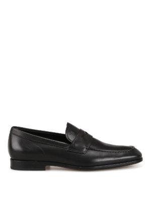 TOD S  Mocassini e slippers - Mocassini neri in pelle con punta affusolata 232cc2cceb6