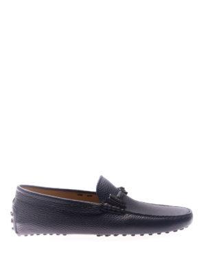 TOD'S: Mocassini e slippers - Mocassini con morsetto ricoperto