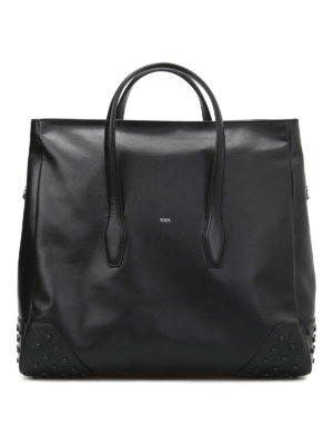 Tod'S: Luggage & Travel bags - Gommini soft leather travel bag