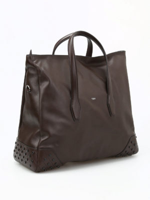 Tod'S: Luggage & Travel bags online - Gommini soft leather travel bag