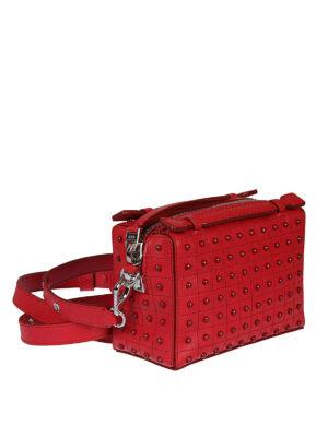 TOD'S: borse a tracolla online - Mini bauletto Gommini Bag color ribes