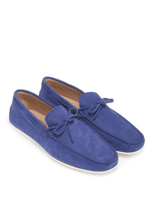 TOD'S: Mocassini e slippers online - Mocassini con cuciture a vista