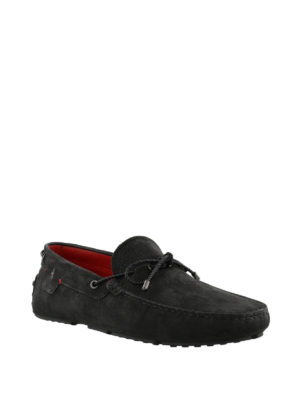TOD'S: Mocassini e slippers online - Mocassini Gommino-Ferrari in nabuk