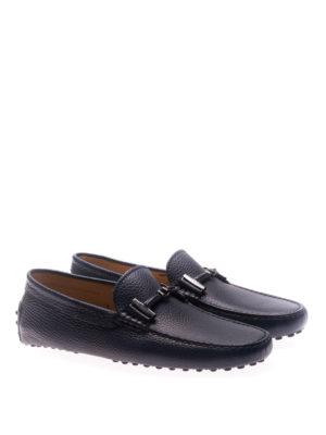 TOD'S: Mocassini e slippers online - Mocassini con morsetto ricoperto