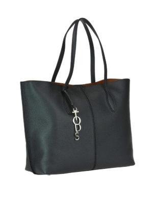 TOD'S: shopper online - Shopper Joy grande in pelle nera