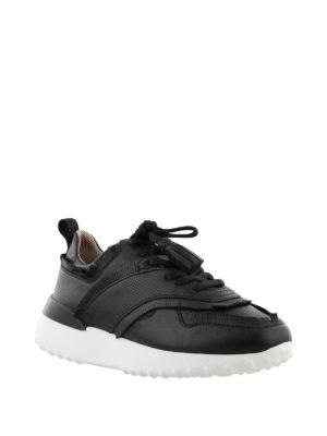 TOD'S: sneakers online - Sneaker nere con frangette