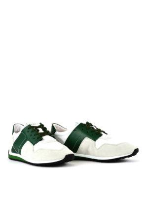 TOD'S: sneakers online - Sneaker con dettagli verdi