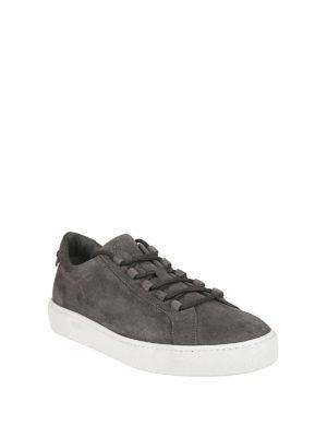 TOD'S: sneakers online - Sneaker in camoscio con Gommini