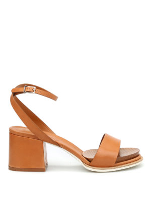 Tod'S: sandals - 19A leather sandals