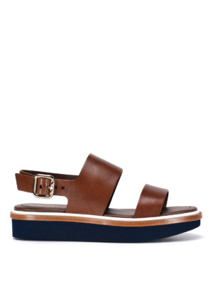 Tod'S: sandals - 23A leather sandals