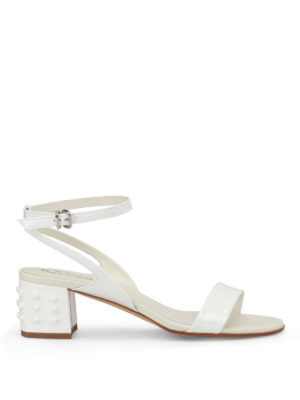 Tod'S: sandals - Gommini heel patent sandals