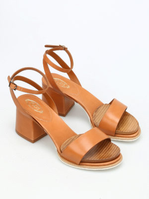 Tod'S: sandals online - 19A leather sandals