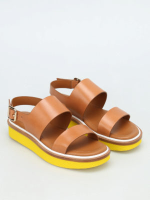 Tod'S: sandals online - 23A leather sandals