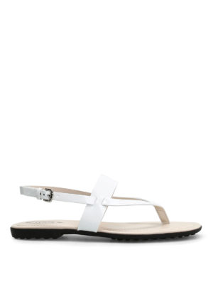 Tod'S: sandals - Patent leather sandal