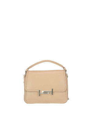Tod'S: shoulder bags - Double T small shoulder bag
