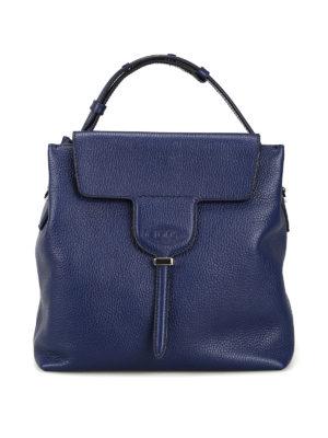 TOD S  borse a spalla - Borsa a tracolla Joy piccola in pelle blu. Nuova  stagione c9236a128eb